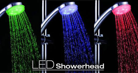 سر دوش LED حمام  LED Shower light
