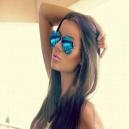 عینک آفتابی خلبانی آبی - ray.ban
